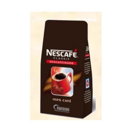 Nescafe Mokambo 250 gr. Café liofilizado descafeinado.